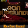 Ron Burgandy Win a Dodge Durango Funny or Die Sweepstakes