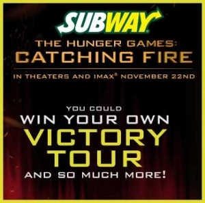 The Hunger Games Catching Fire Sweepstakes