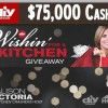 Win a Kitchen DIY Sweepstakes 75 thousand cash