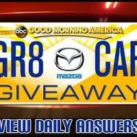 abc Good Morning America Gr8 Car Giveaway