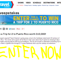 Win a trip to Puerto Rico