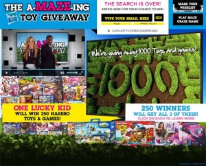Cartoon Network The Amazing Maze Toy and Games Giveaway Hasbro (1)