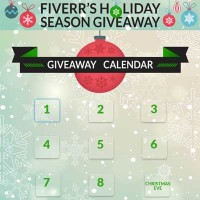 Fiverr Holiday Season Giveaway 10 Days of Giveaways