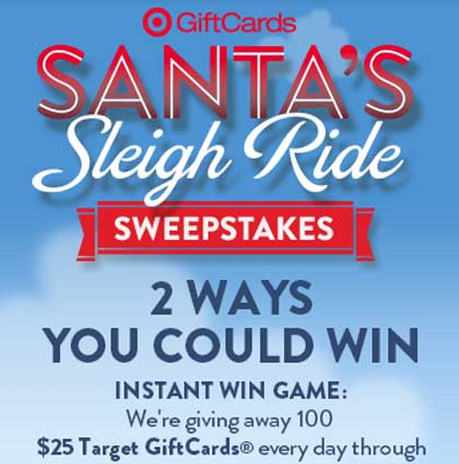 Abc familys 25 days of christmas sweepstakes