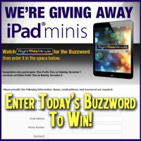 Right This Minute iPad mini Giveaway Win a Free iPad
