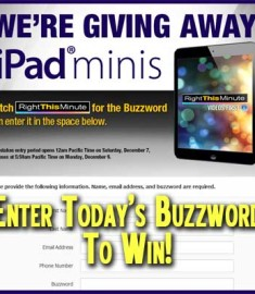 Right This Minute iPad mini Giveaway Win a Free iPad