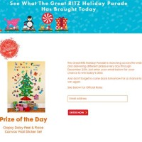 Ritz Holiday Parade Sweepstakes