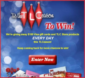 TLC Sweepstakes Win Gift CArds TLCeason Win Daily