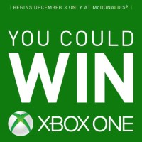 Win Xbox One at McDonalds Sweepstakes (1)