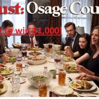 August Osage County sweepstakes win $1,000