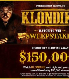 Discovery Channels Klondike Watch to Win Sweepstakes (1)
