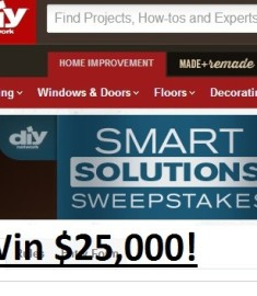 Diy Smart Solutions Sweepstakes win $25,000