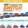 Ford Make the switch giveaway win a car 2014