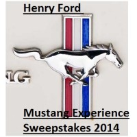 Henry Ford Mustang experience sweepstakes