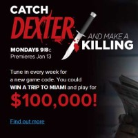 Nuvo TV Dexter Sweepstakes Win 100000 Cash and Trip to Miami