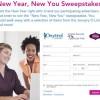 Oprah Magazine Sweepstakes New Year 2014