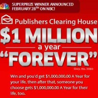 Publishers Clearing House Win 1 Million a Year Forever PCH Sweepstakes