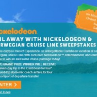 Sail away with Nickelodeon Norwegian cruise line sweepstakes