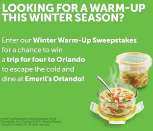 Win a family vacation winter warm up sweepstakes snapware for Warm winter family vacations