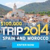 Travel Channel Sweepstakes 2014 Win a Trip to Spain and Morocco