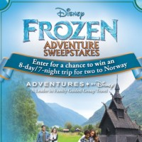 Disney Frozen Adventure sweepstakes