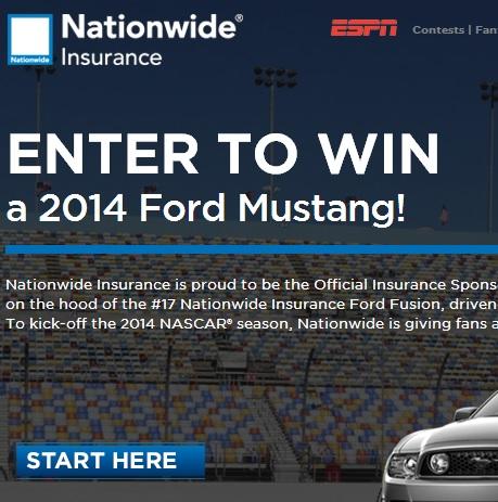 Nascar Mustang Giveaway Winner