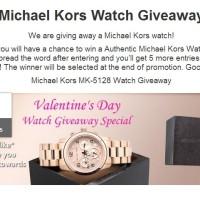 Michael Kors Watch giveaway 2014