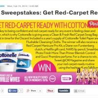Ok! Magazine Cottonelle sweepstakes