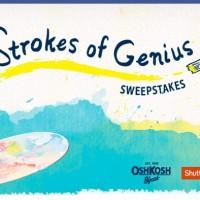 OshKosh B'Gosh Strokes of Genius Sweepstakes