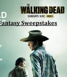 The Walking Dead Fantasy Sweepstakes