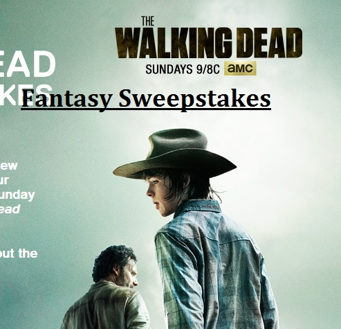 The Walking Dead Fantasy Sweepstakes 2014 Code Words ...