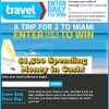 Travel Channel Sweepstakes Win a Trip to Miami Daily Entry