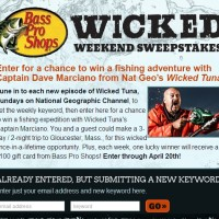 Wicked Weekend Sweepstakes Bass Pro Shops