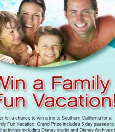 Win a family fun vacation sweepstakes
