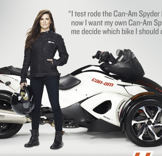 Win a motocycle 2014