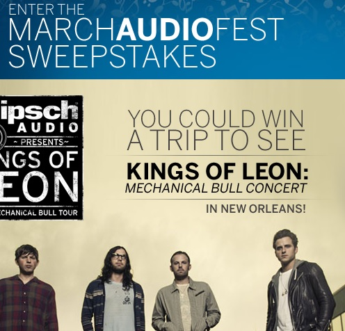 Best Buy March Audio Fest Sweepstakes