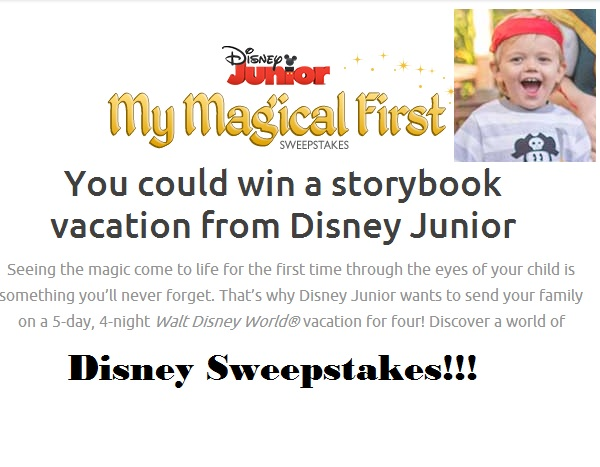 Disney Junior My Magical First Sweepstakes - Sweeps Maniac