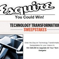 Esquire Technology Transformation sweepstakes