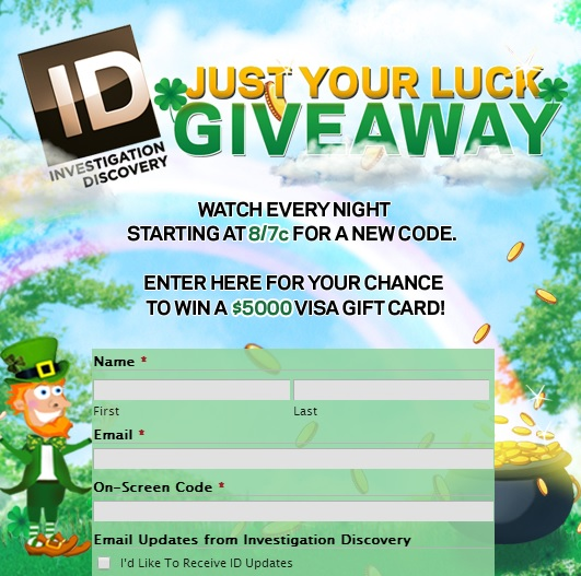 Investigation Discovery Just Your Luck Giveaway Sweeps Maniac
