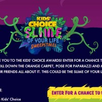 Kids' Choice Slime of your life sweepstakes