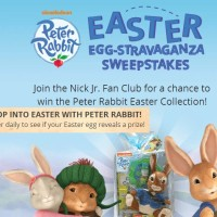 Peter Rabbit's Easter Egg-stravaganza sweepstakes