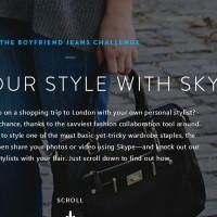 Skype The Boyfriend Jeans Challenge