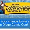Win a trip to Comic-Con 2014