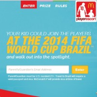 Win a trip to the 2014 World Cup in Brazil
