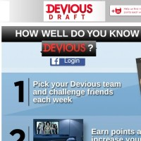 A&E Devious Draft Sweepstakes