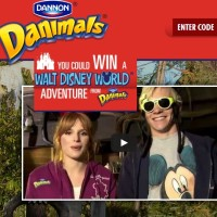 Dannon Danimals Win a Walt Disney World Adventure