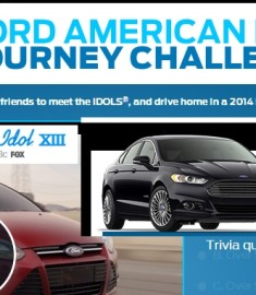Ford American Idol journey Challenge