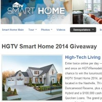 HGTV Smart Home 2014 Giveaway