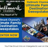 Hallmark Channel's Ultimate Family Destination Sweepstakes