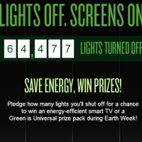 Light Off Screens on Earth week sweepstakes